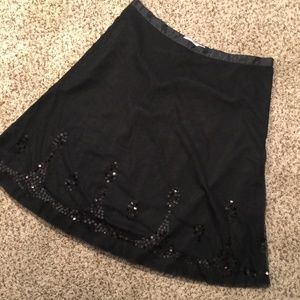 ❤️ New Old Navy Mesh Sequin Flare Party Skirt